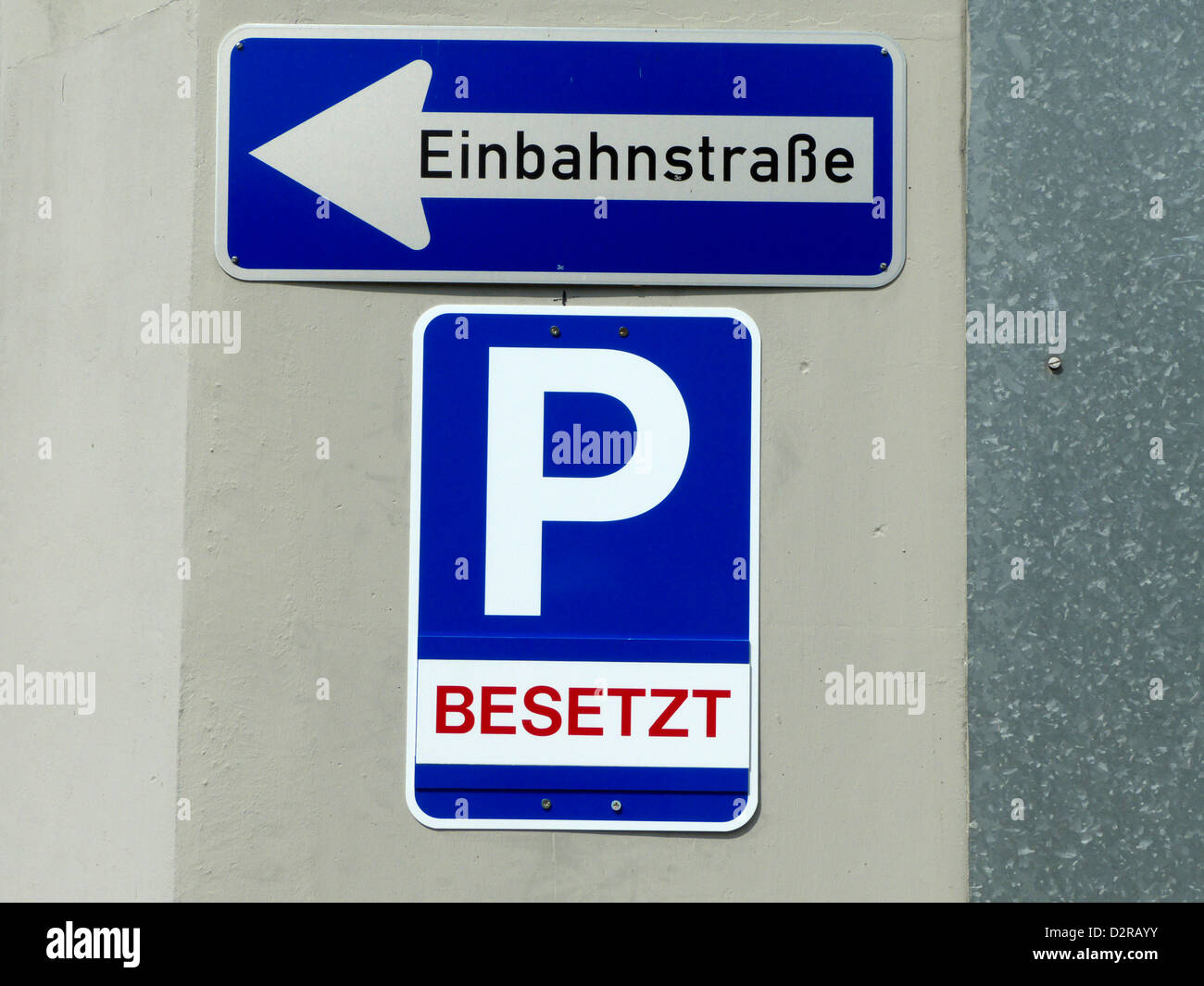 German sign of parking place is occupied stock photo royalty free german sign of parking place is occupied buycottarizona
