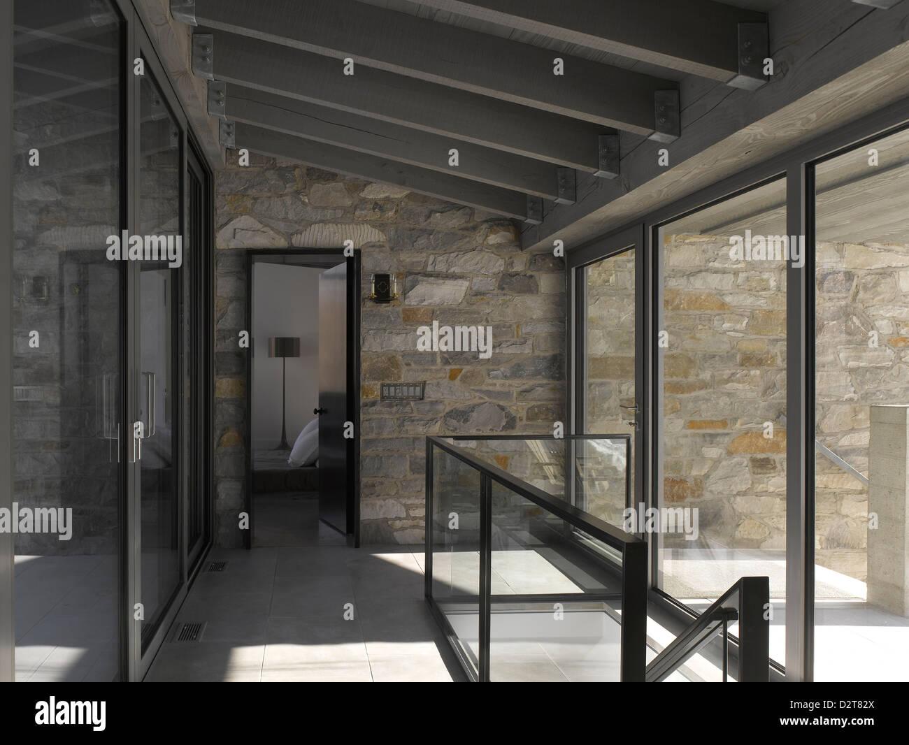 La Maison Bromont Montreal Canada Architect Paul Bernier Entrance Lobby  With Maison Architect