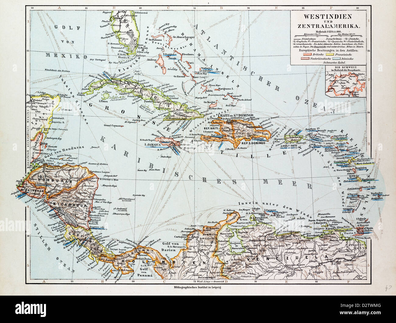 MAP OF HONDURAS NICARAGUA COSTA RICA THE NORTHERN PART OF COLUMBIA - Nicaragua map honduras