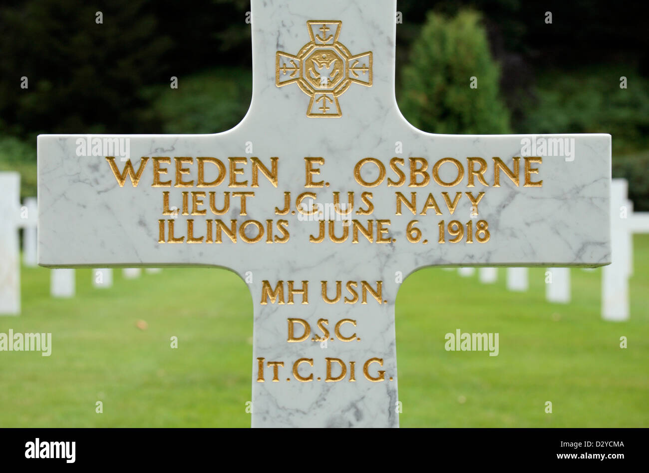 Medal of honor headstone of weeden e osborne mh usn dsc itcdi g medal of honor headstone of weeden e osborne mh usn dsc itcdi g aisne marne american cemetery and memorial belleau france buycottarizona