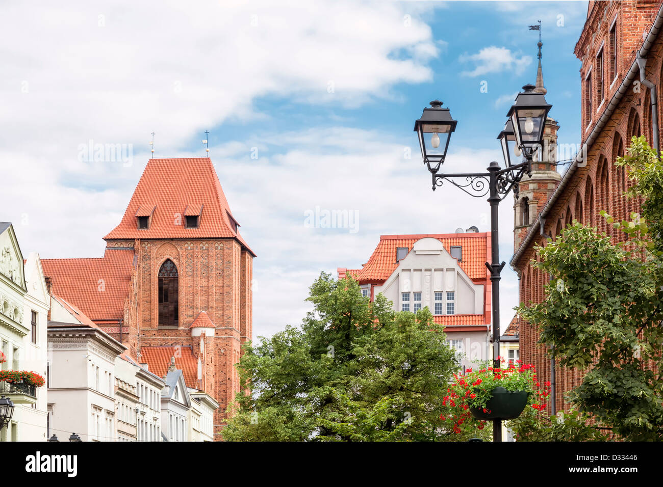 sights of poland old town in torun on the world heritage list