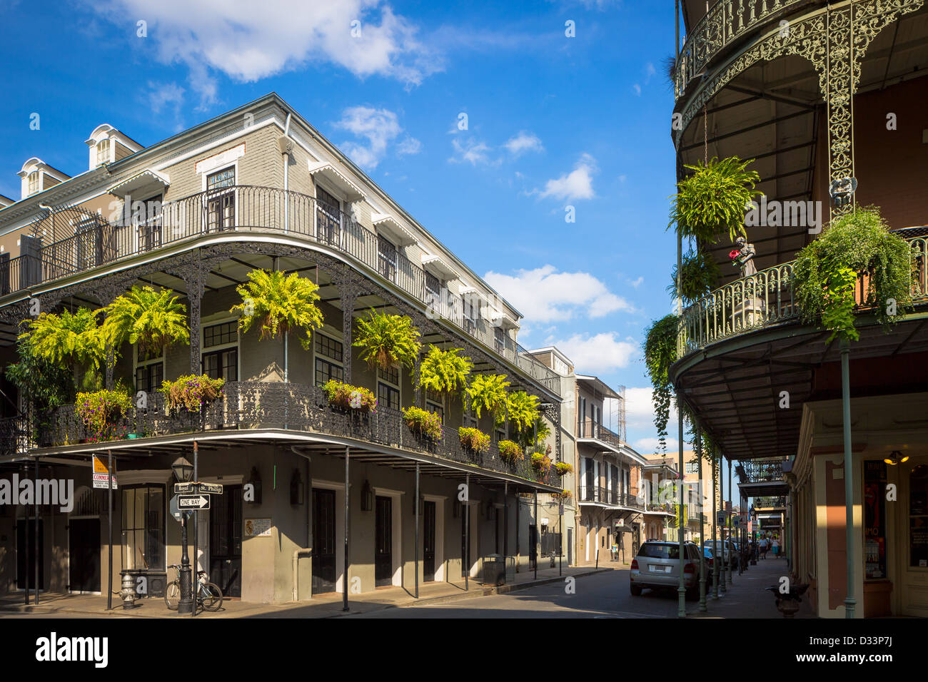 Typical building in the french quarter area of new orleans for What to do in new orleans louisiana