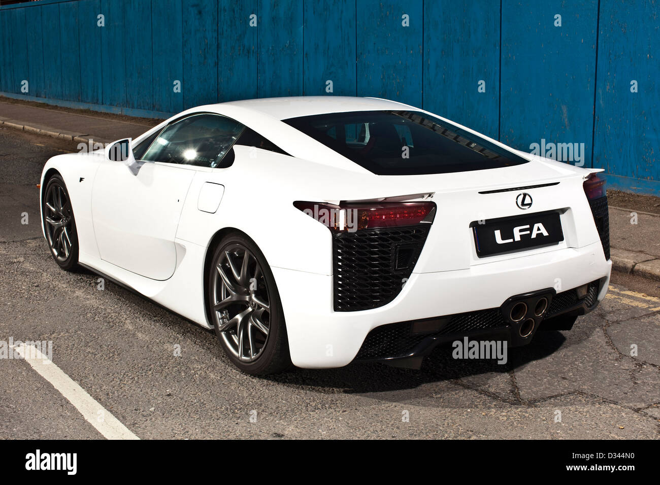 hybrid lexus lfa electric sports car london 21 03 2010 stock photo royalty free image. Black Bedroom Furniture Sets. Home Design Ideas