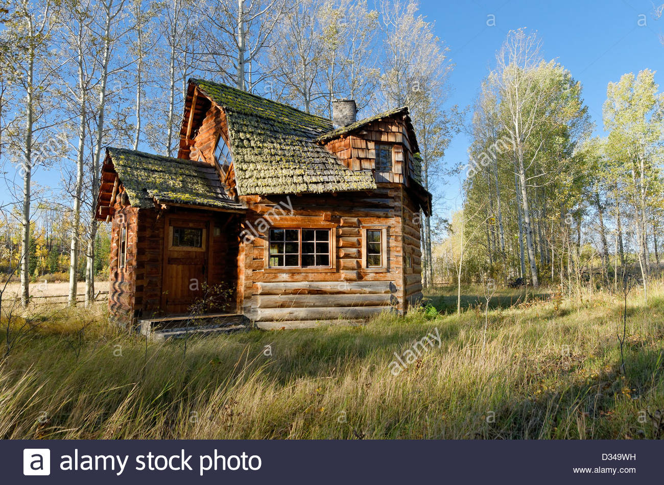Unique Log Cabin 83 Mile House Cariboo Region British