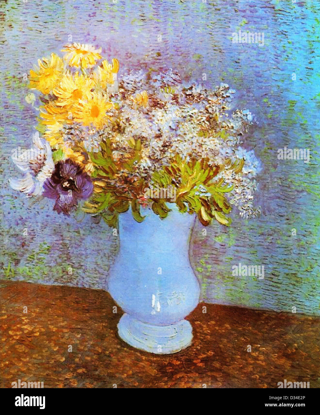 Vincent van gogh vase with lilacs daisies and anemones 1887 vincent van gogh vase with lilacs daisies and anemones 1887 oil on reviewsmspy