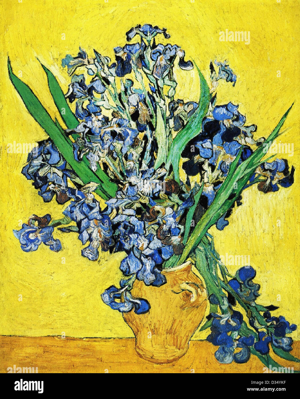 Vincent van gogh still life with irises 1890 post impressionism vincent van gogh still life with irises 1890 post impressionism oil on canvas van gogh museum amsterdam netherlands reviewsmspy