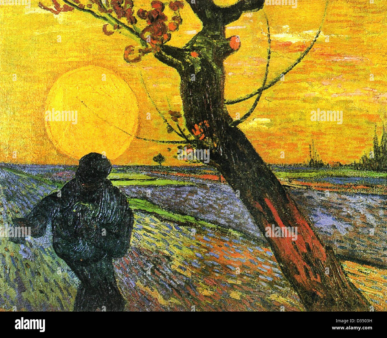 The sower and setting sun