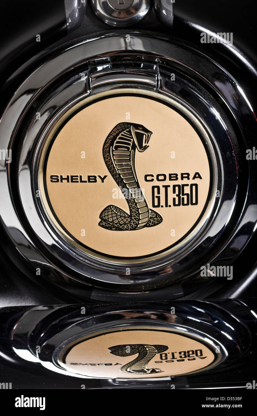 Logo insignia on petrol cap of shelby mustang gt350 stock photo logo insignia on petrol cap of shelby mustang gt350 buycottarizona Choice Image