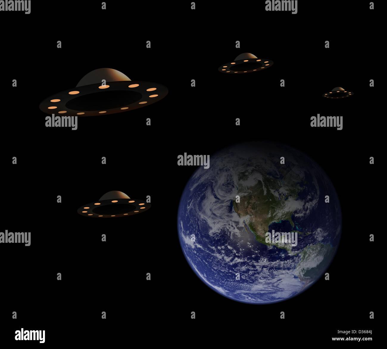 NASA Alien Invasion - Pics about space