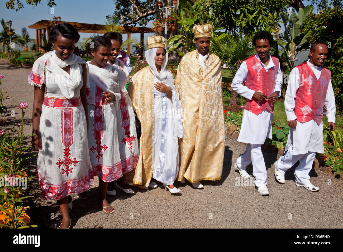 Ethiopian Wedding Party Lake Tana Bahir Dar Ethiopia