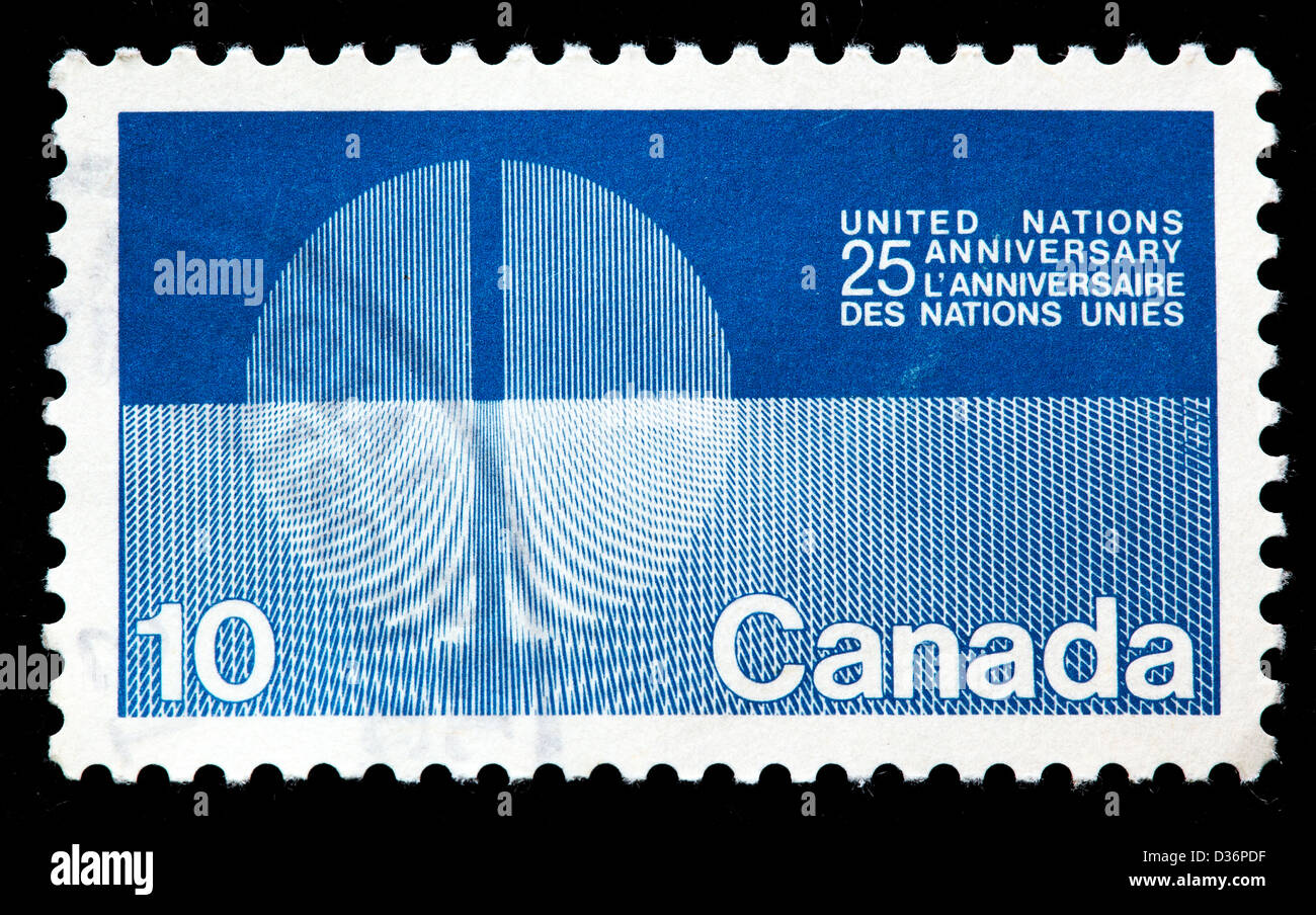 United nations postage stamp stock photos united nations postage 25th anniversary of the united nations postage stamp canada 1970 stock image biocorpaavc