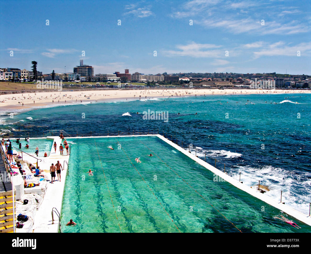 The Outdoor Sea Bondi Baths Swimming Pool At Icebergs