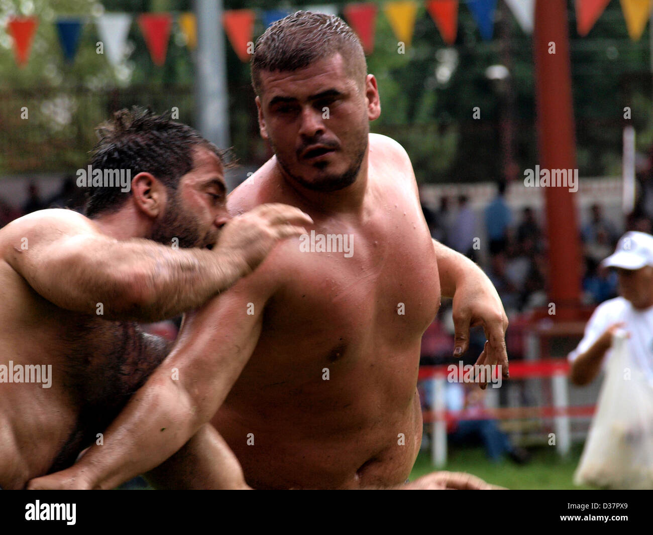 Men Oil Wrestling 39