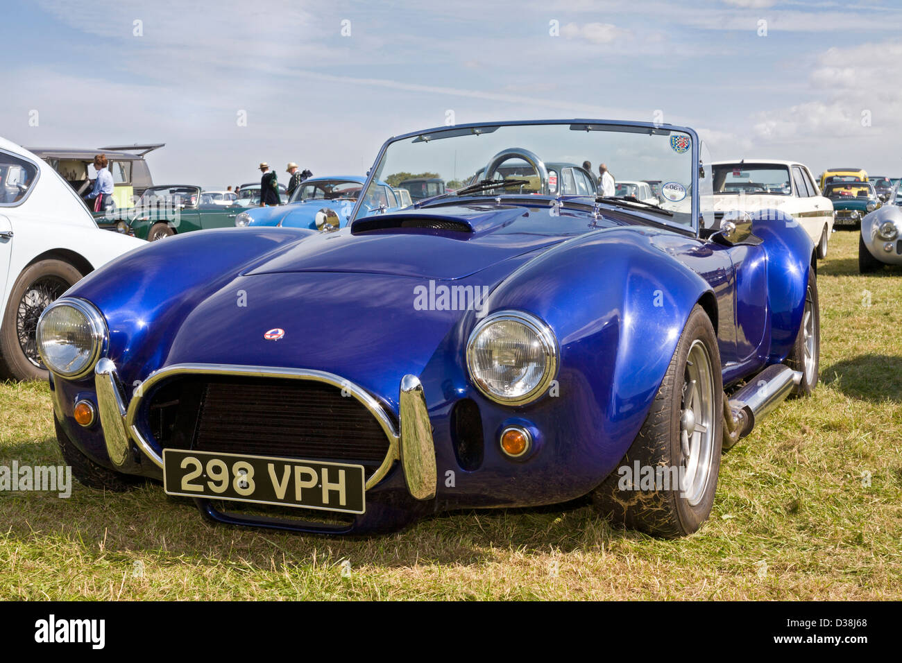 jaguar shelby cobra 427 kit car 298vph 5 7 litre v8 in the classic stock photo royalty free. Black Bedroom Furniture Sets. Home Design Ideas