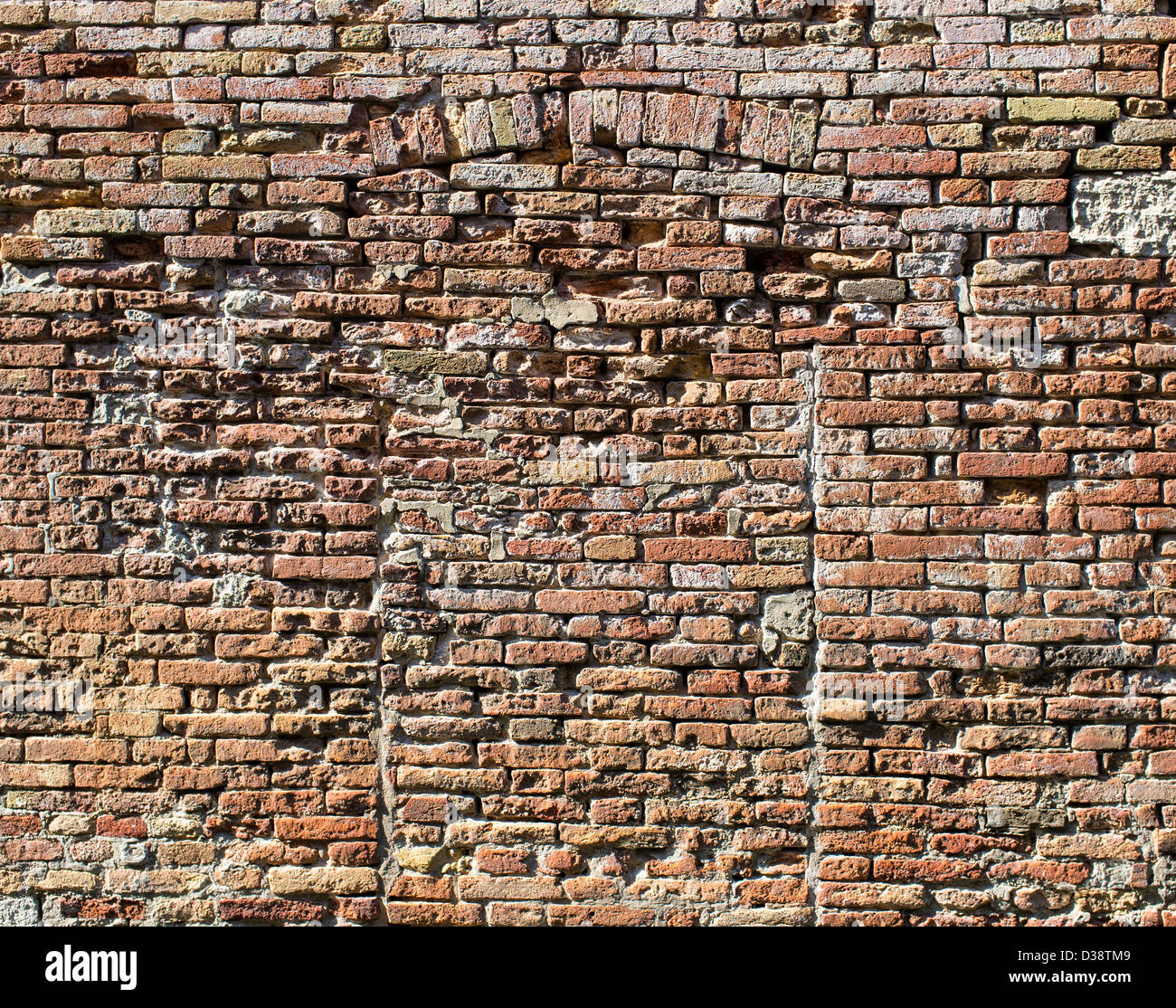 Brick Wall with the Outline of a Bricked up Doorway in Venice Italy & Brick Wall with the Outline of a Bricked up Doorway in Venice ... Pezcame.Com