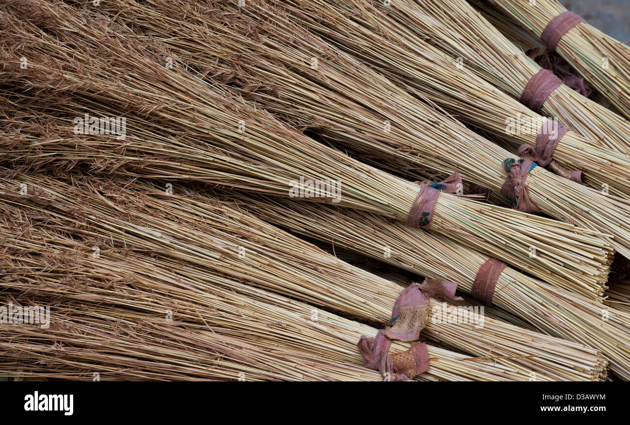 Indian Grass Reed Brushes Traditional Indian Sweeping