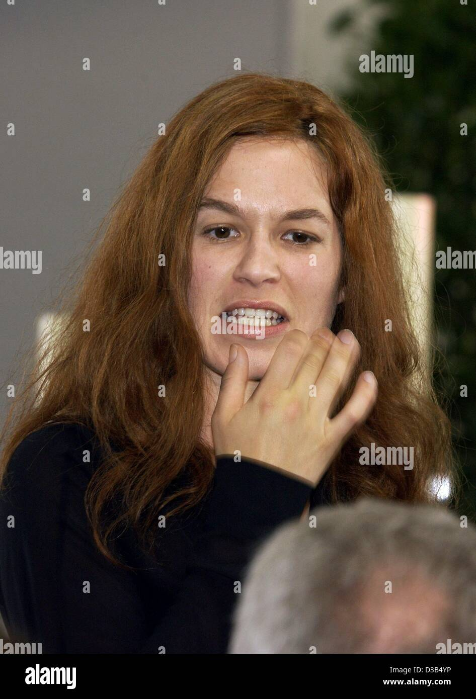 (dpa) - German actress Franka Potente ('Lola Runs', 'The ...