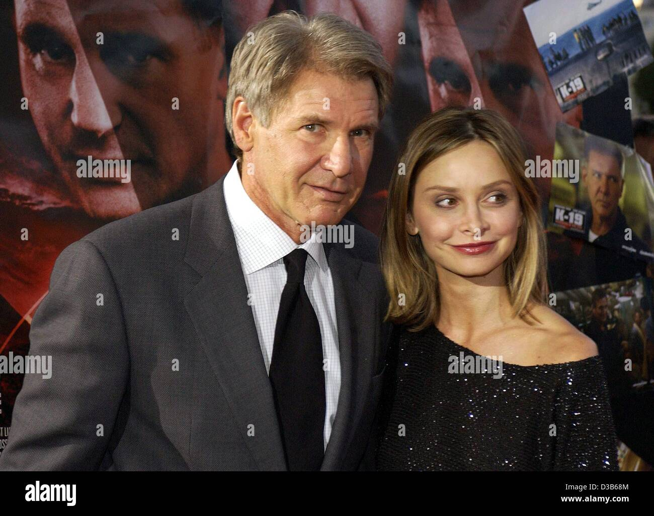 Dpa Hollywood Star Harrison Ford And His Girlfriend