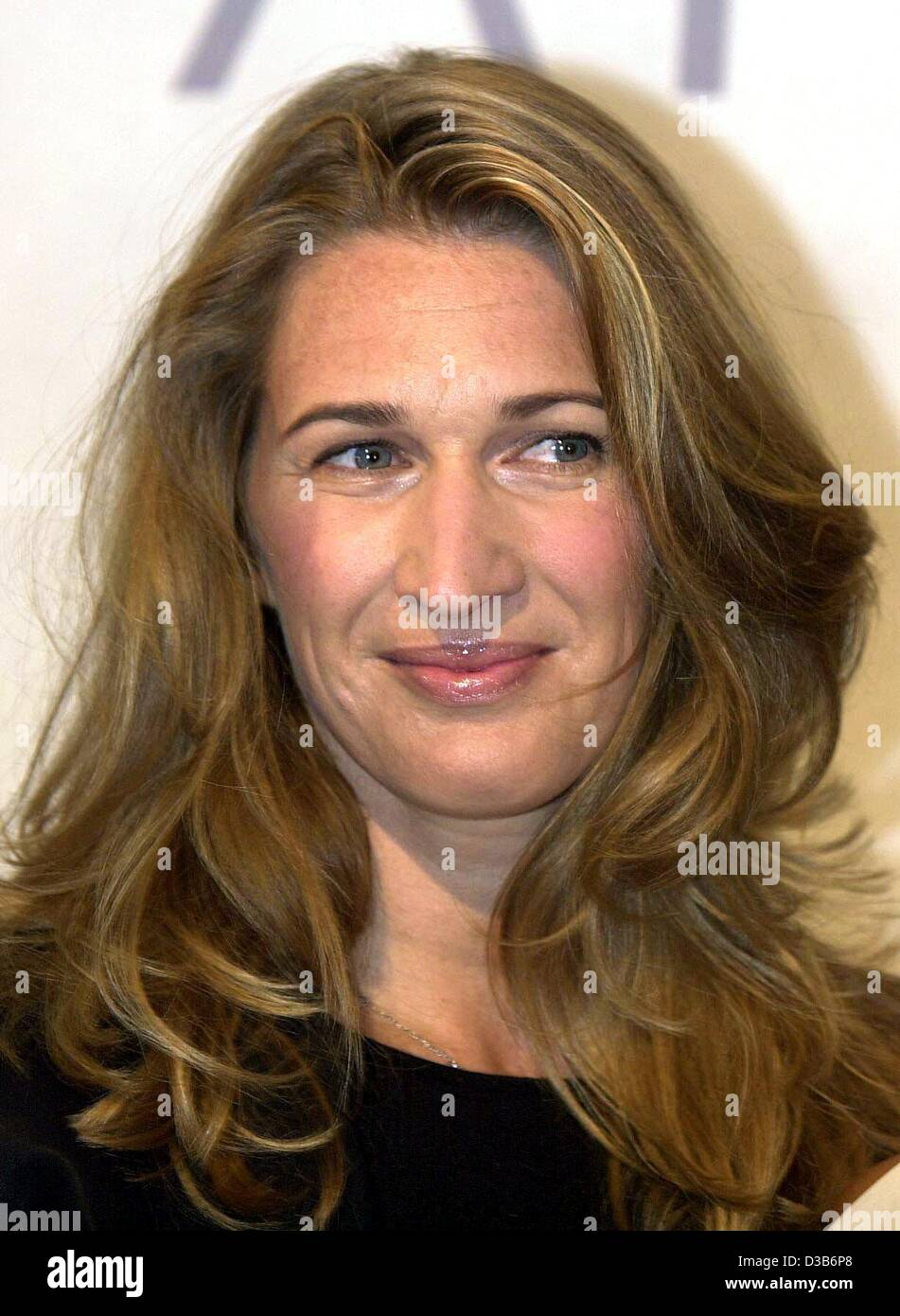 dpa German tennis star Steffi Graf pictured during the Stock