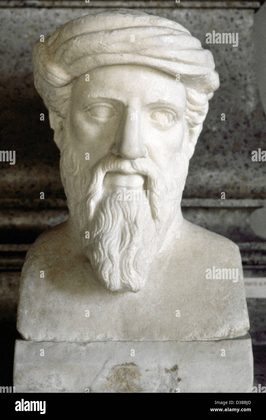 theorem stock photos theorem stock images  pythagoras of samos 570 bc 495 bc greek philosopher and mathematician