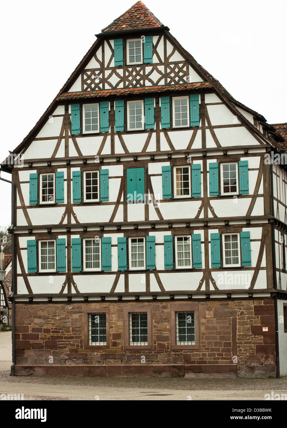 House Half Timbered German Culture Medieval Germany Traditional Architectural Feature Built Structure Europe