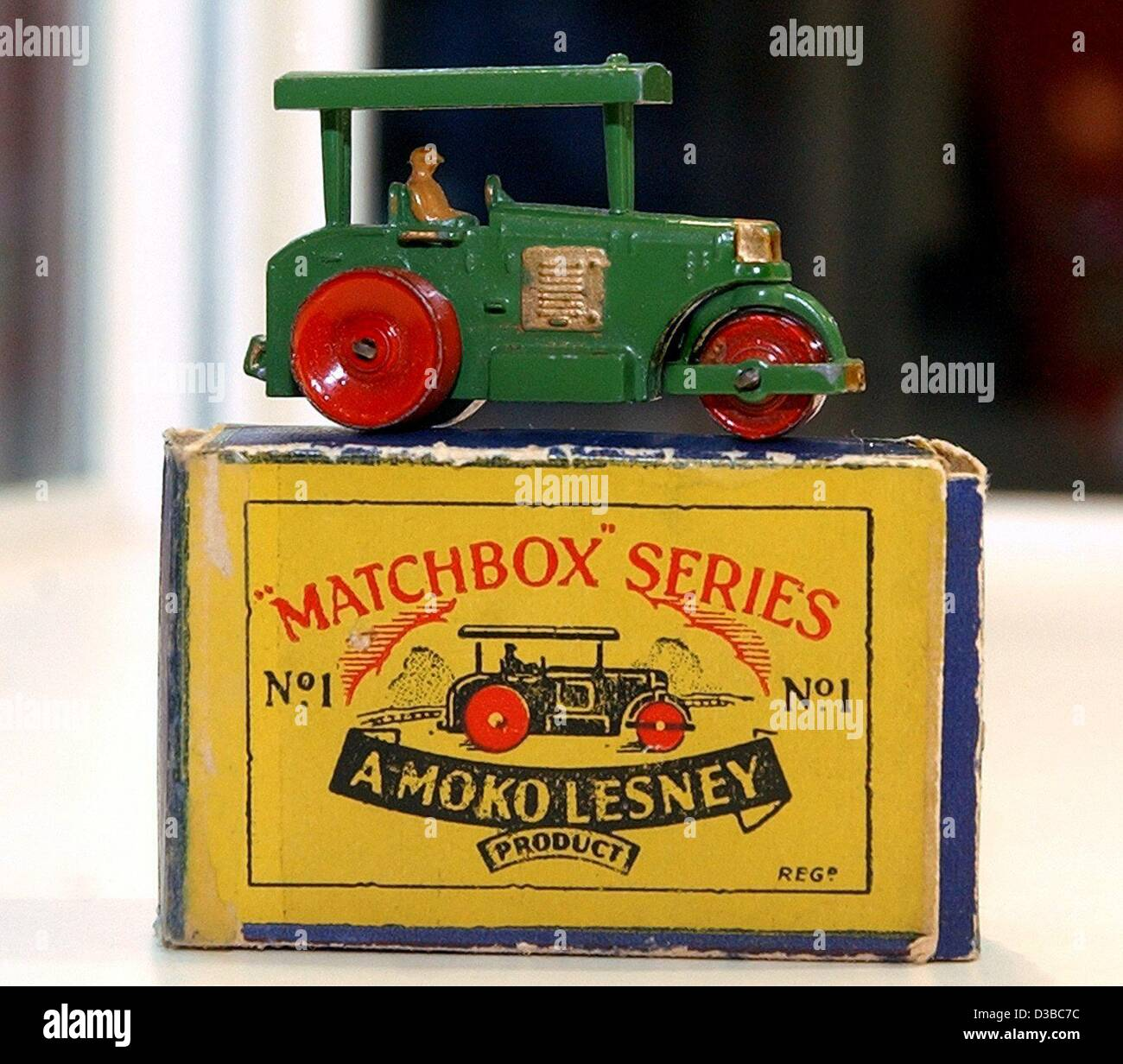 Toys From 1953 : Dpa the first matchbox car a little steamroller from