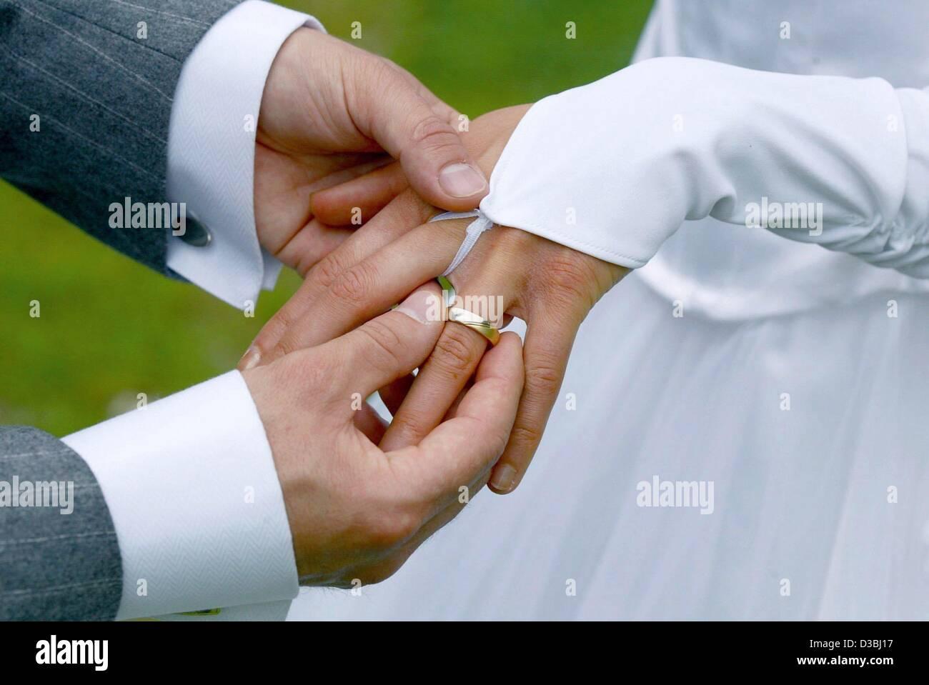 Very expensive wedding rings German wedding ring finger