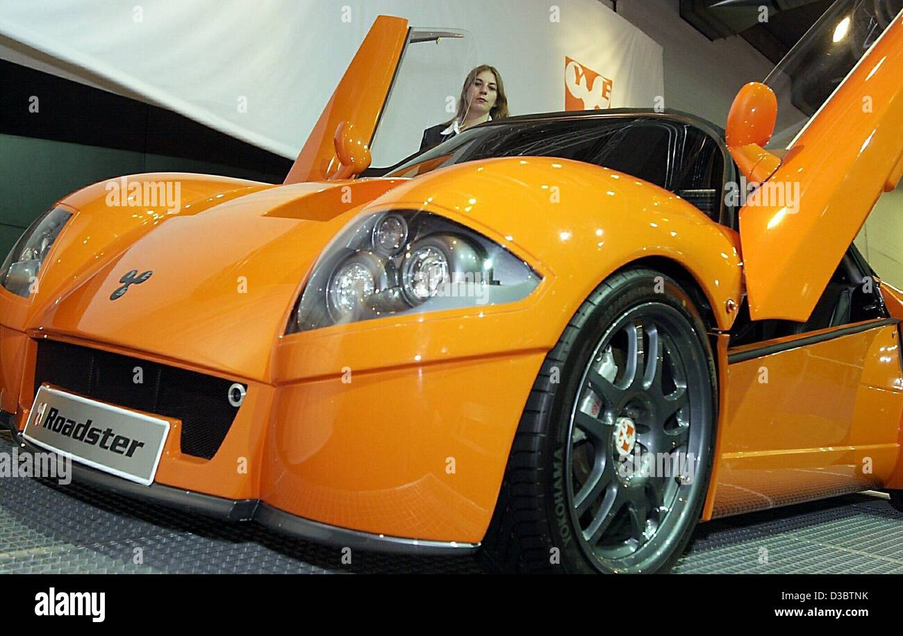 Dpa The German Car Maker Yes Present Their New Roadster At The