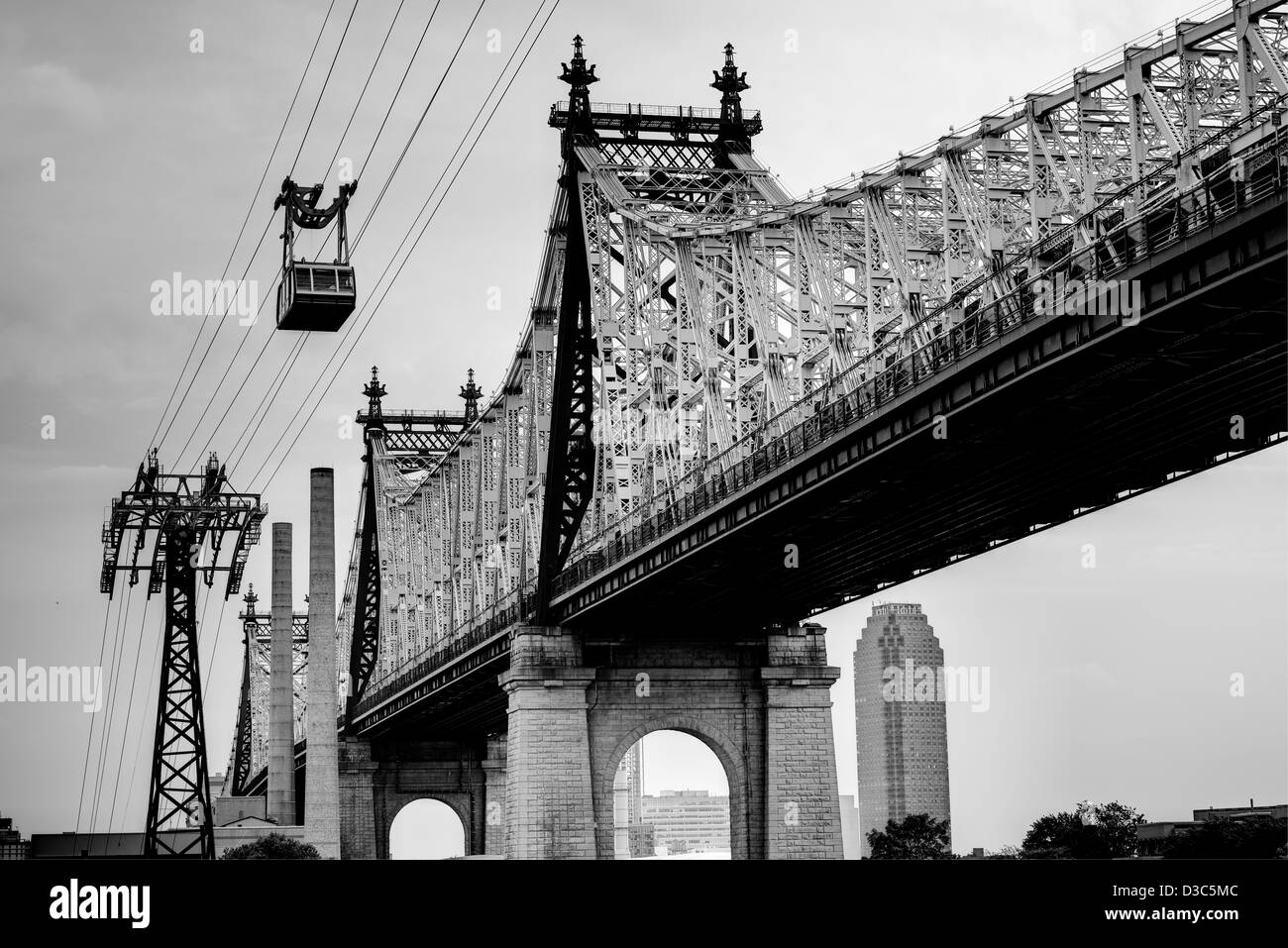 Cable Automotive Oklahoma City : The queensboro bridge across east river new york city