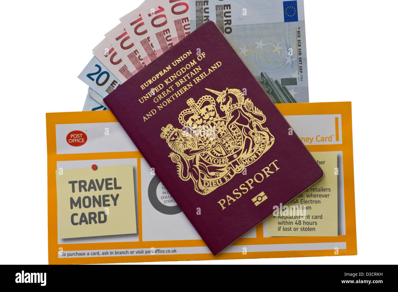 Passport office uk stock photos passport office uk stock images british passport spanish euro currency notes and a post office travel money envelope stock image falaconquin