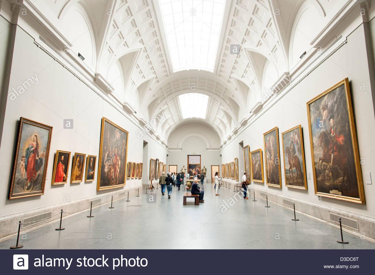 museo del prado art gallery madrid spain stock photo On the gallery madrid