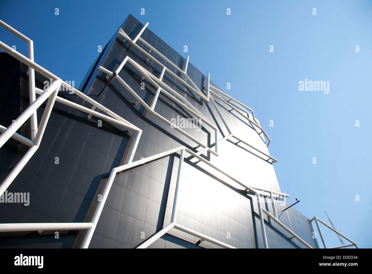 The Iconic Architecture Of The MTC Preforming Arts Sumner Theatre South  Melbourne Victoria Australia   Stock