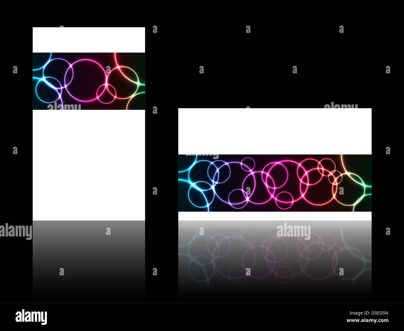 Abstract business card with special plasma design stock for Plasma design business cards