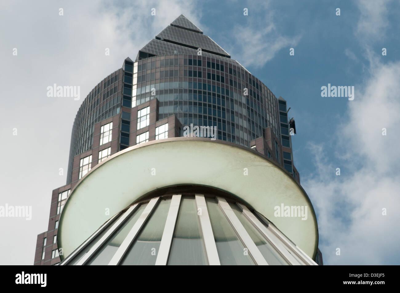 Messeturm frankfurt am main detail architektur for Frankfurt architektur