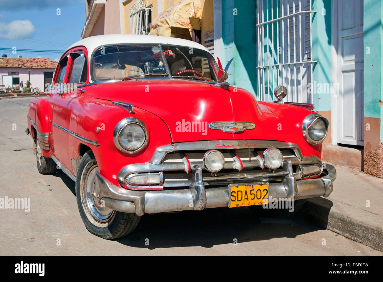 Old 1950s vintage american chevrolet car yank tank in for Old classic american cars