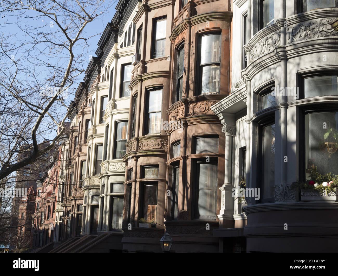 New York City Real Estate - Harlem Brownstones Have Slipped Back ...