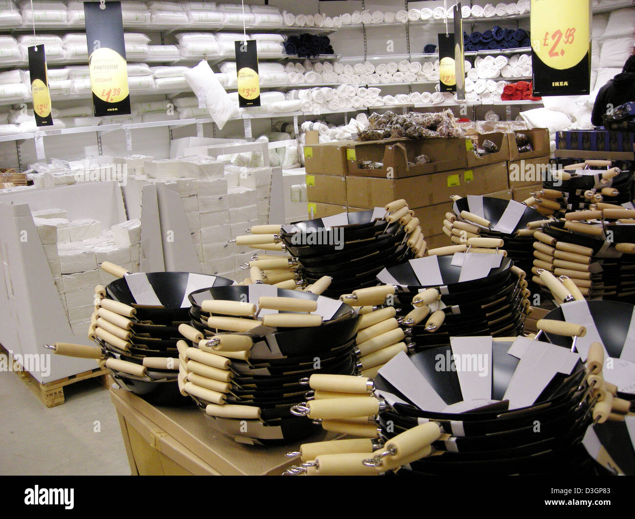 Kitchen Equipment For Sale In An Ikea Shop Or Store England Uk Stock Photo Royalty Free Image
