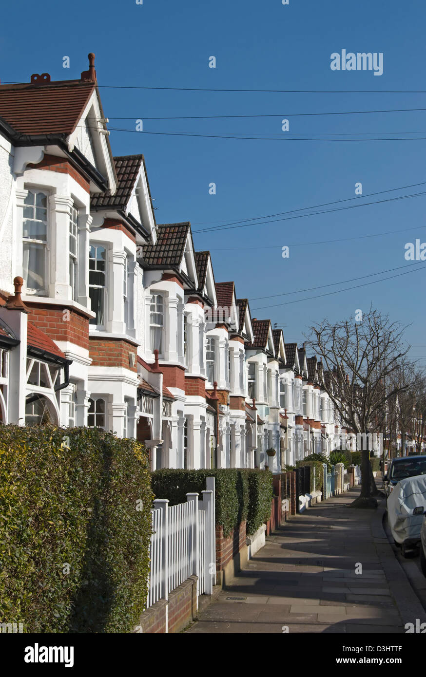 Houses With Bay Windows row of terraced victorian houses with bay windows in bedford park