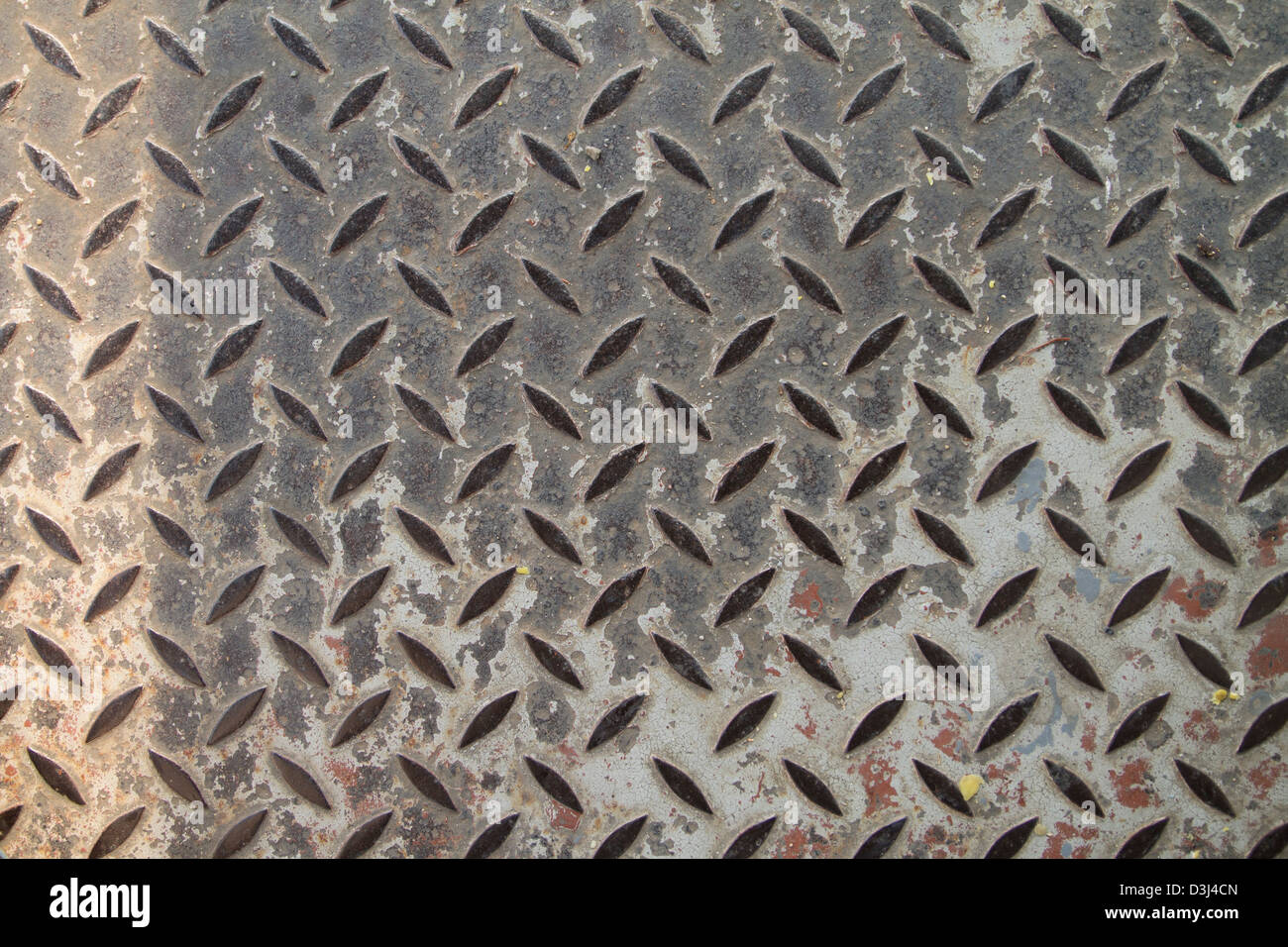 Checker Plate Floor Surface Texture Steel Grip Metal