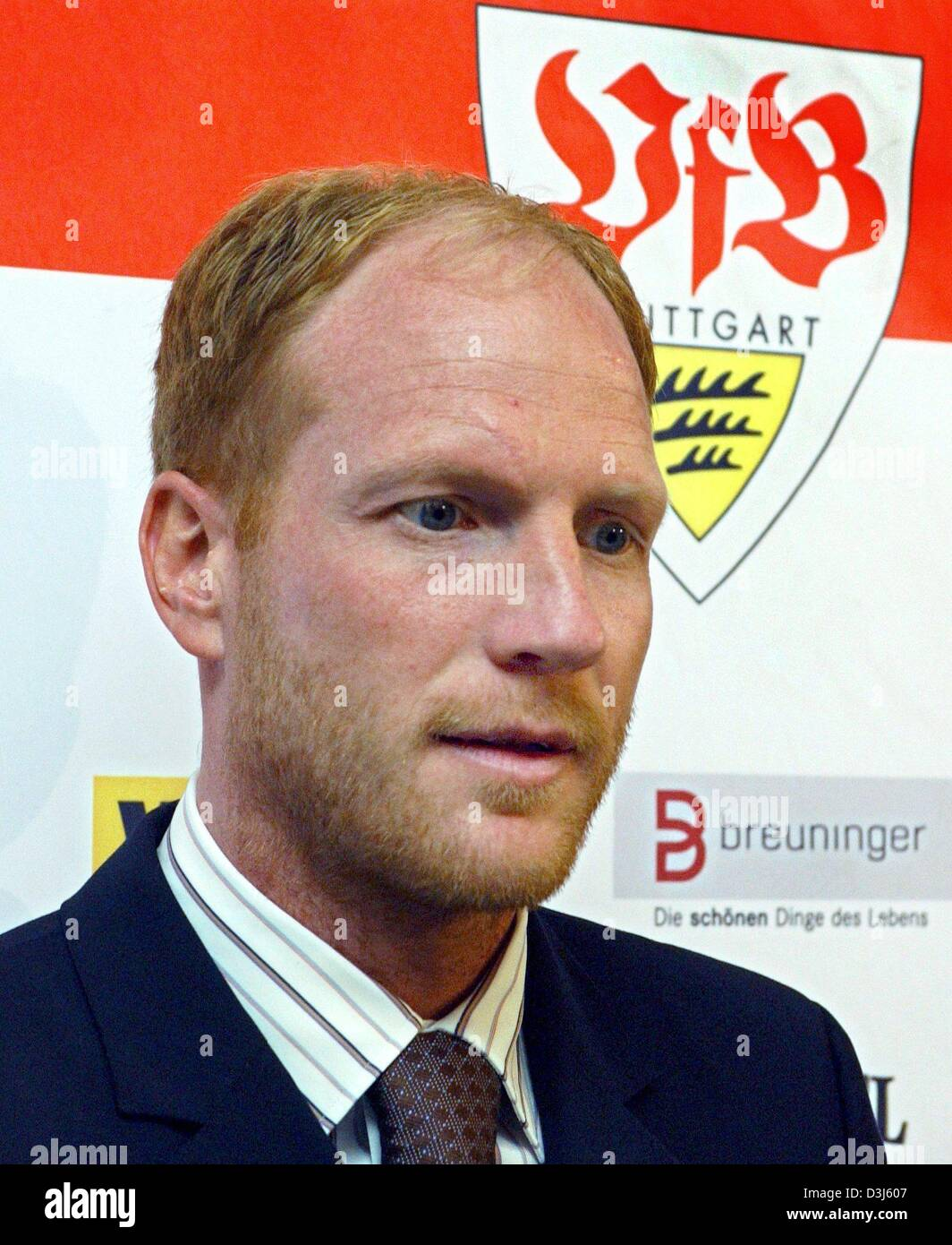 dpa Matthias Sammer is introduced as the new head coach for