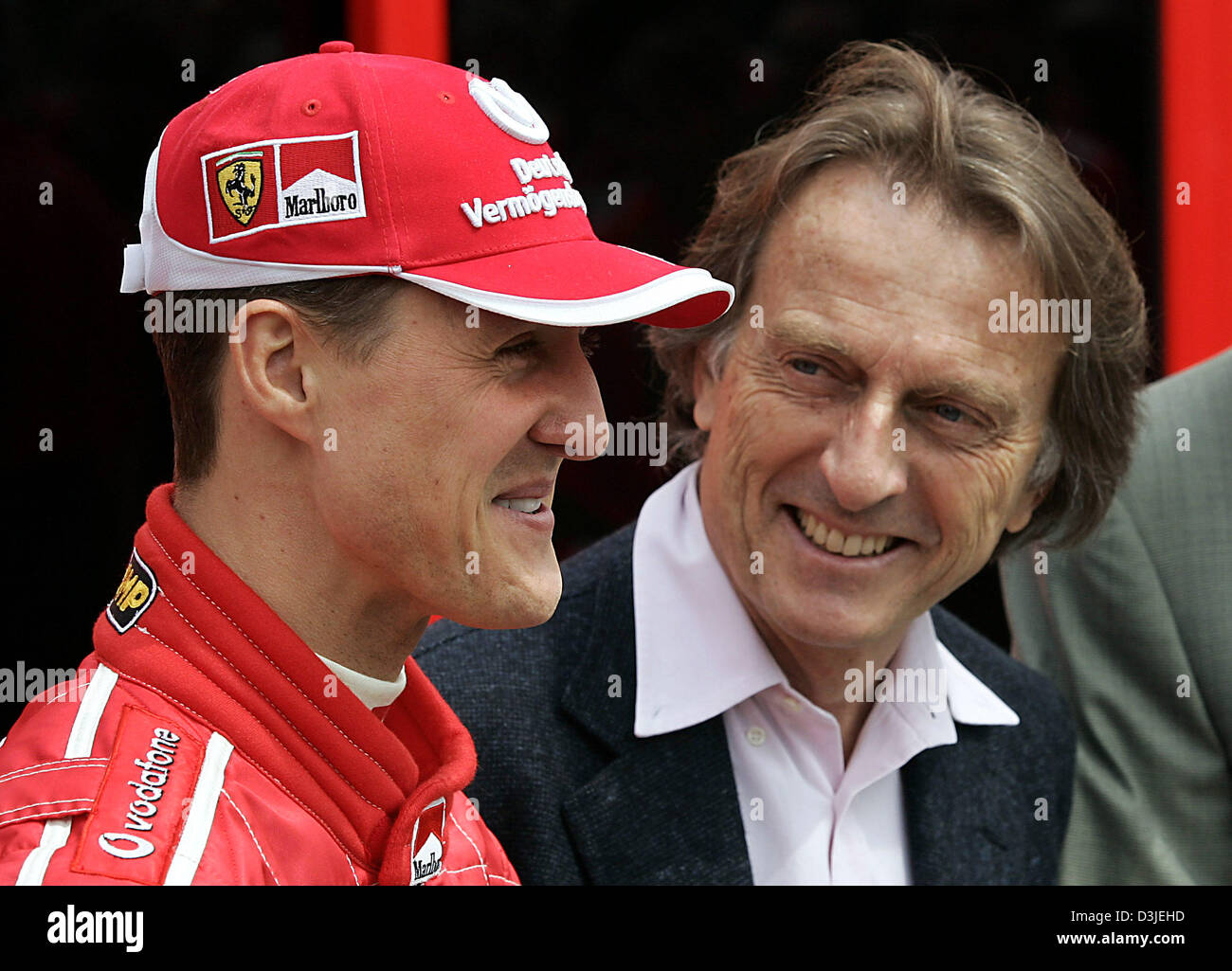 dpa) - German formula one champion Michael Schumacher (Ferrari ...