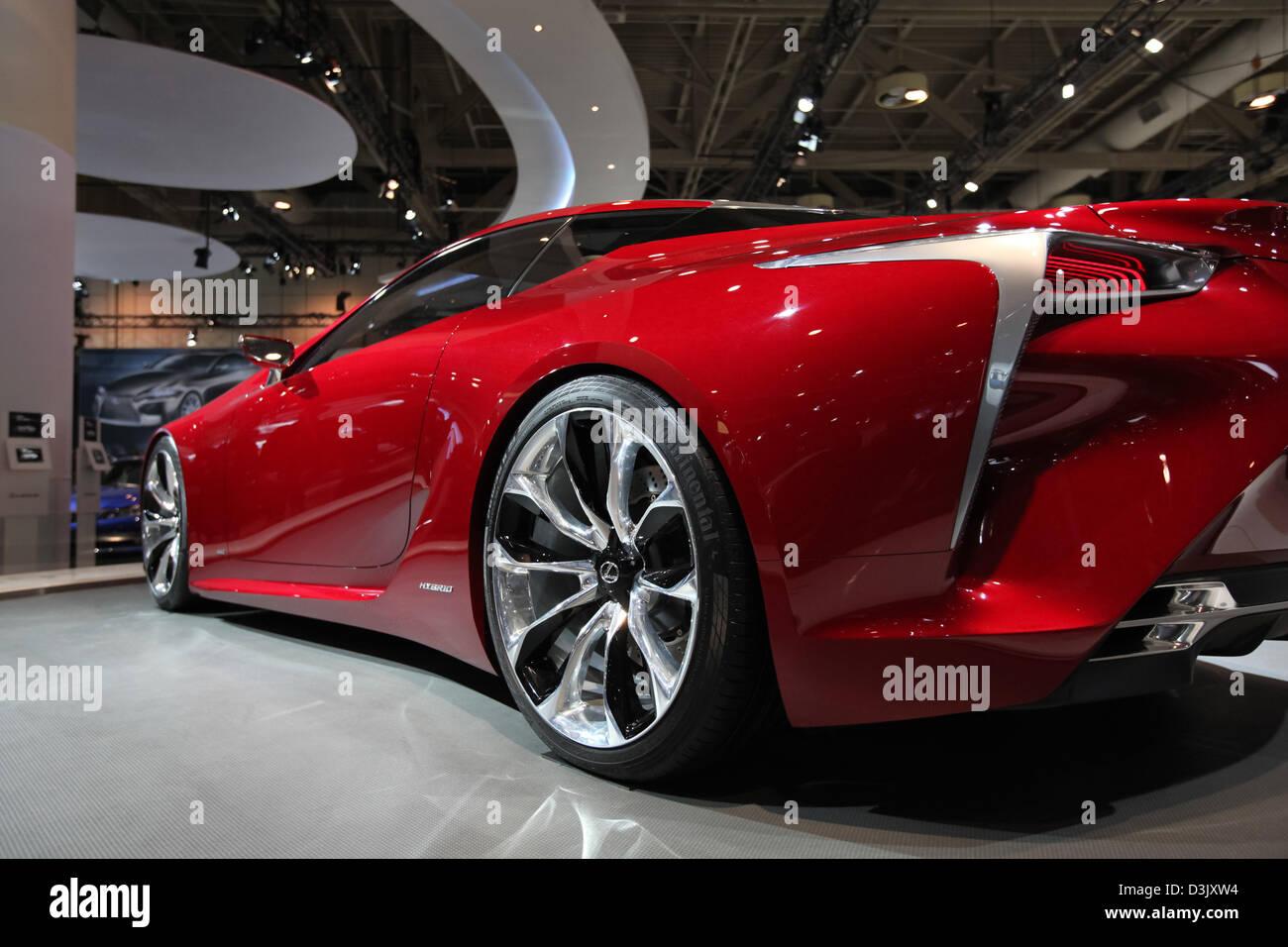 Lexus Lf Lc Concept Car Rear View