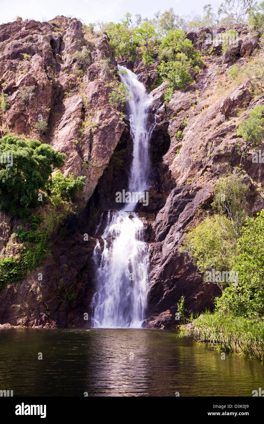 Surrounded By Lush Monsoonal Rainforest Scenic Wangi Falls Is The - 10 best sights of litchfield national park