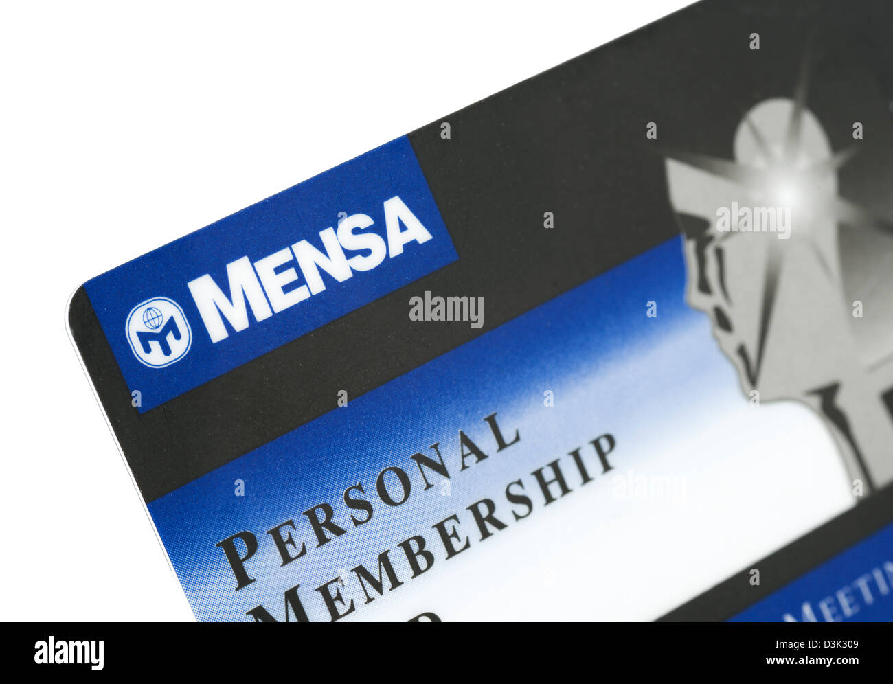 Membership stock photos membership stock images alamy membership card for mensa the high iq society uk stock image 1betcityfo Images
