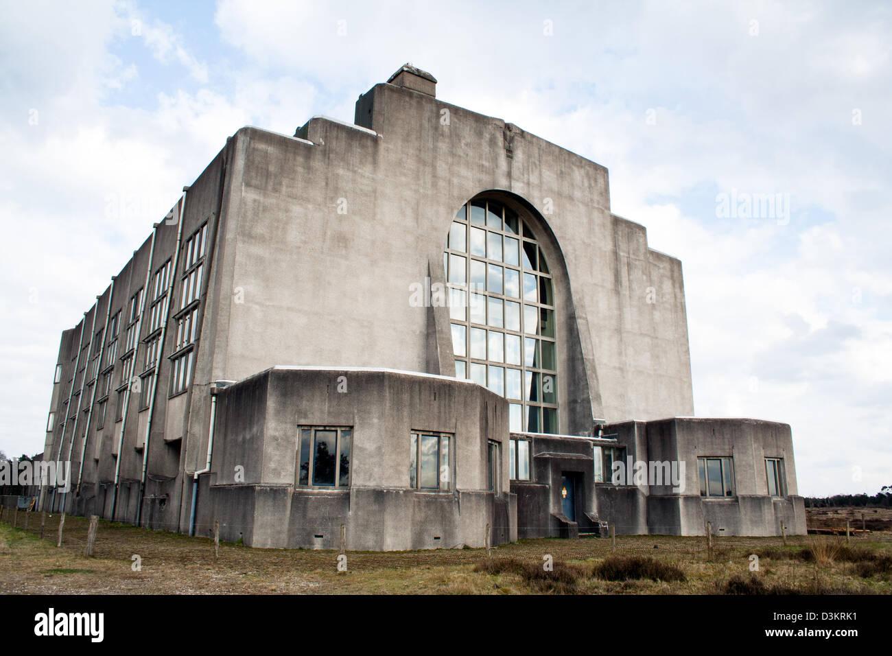 abandoned radio kootwijk building former 1920s radio