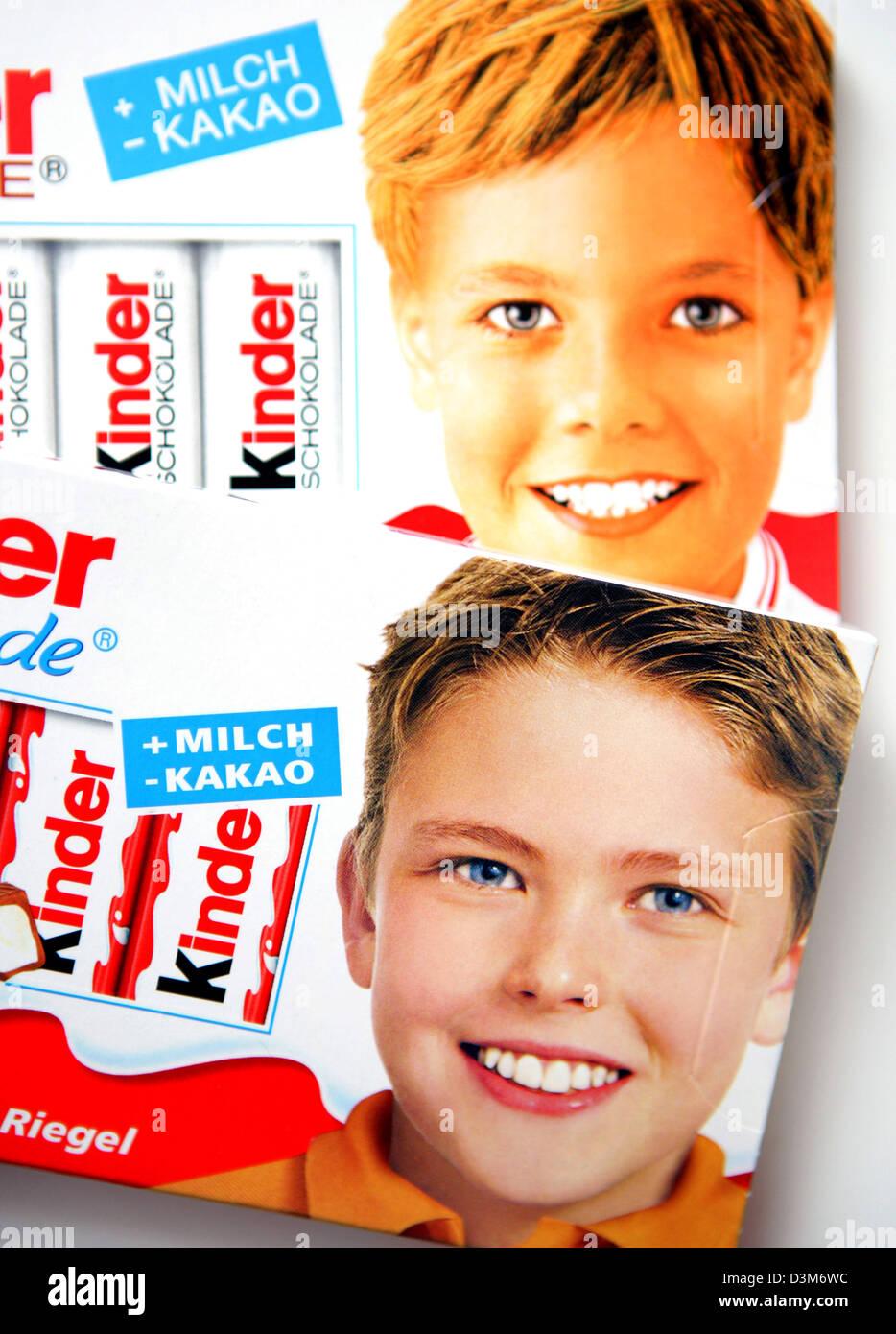 Kinderschokolade Junge Früher