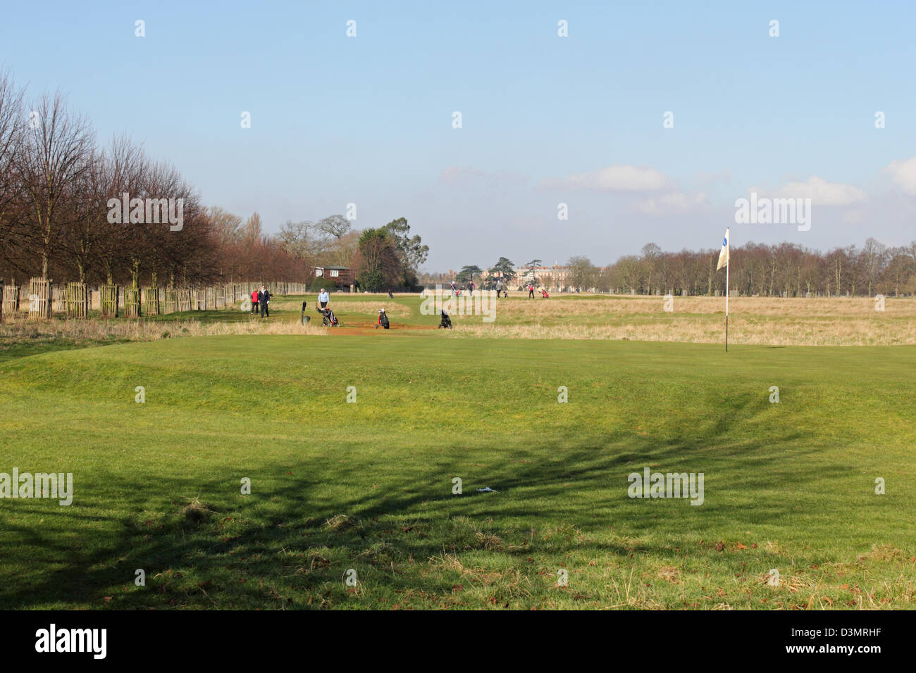 Hampton Court Park Golf Course Home England UK