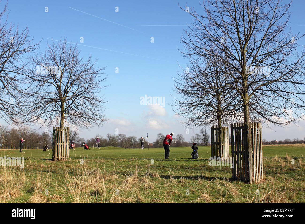 Hampton Court Park Golf Course Home England UK