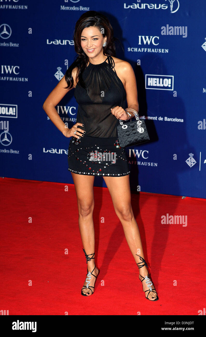 Verona Pooth Arrives At The Laureus World Sports Awards