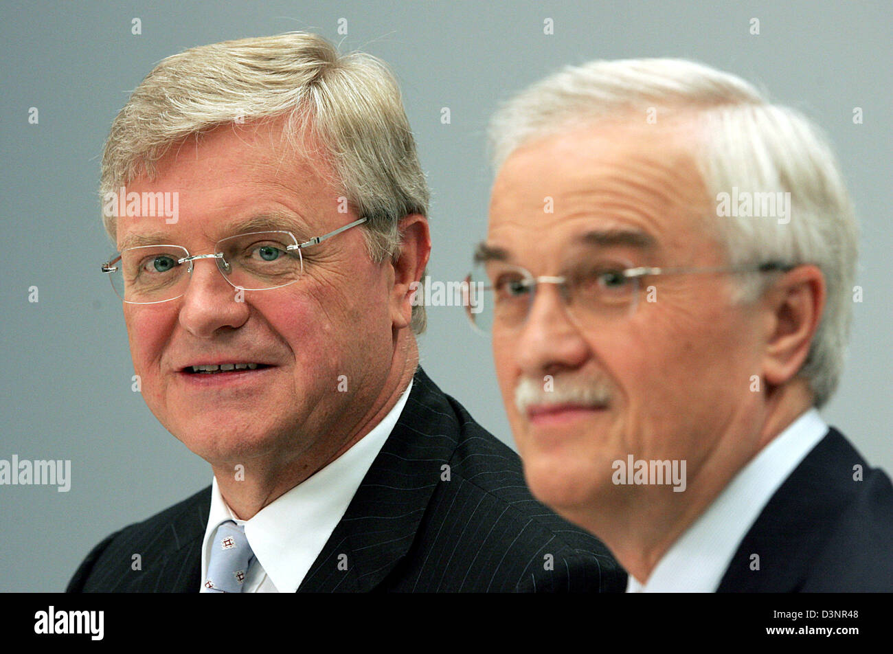 Werner Ag werner wenning l and hubertus erlen chairmen of bayer ag and